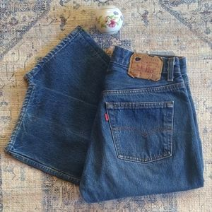Vintage 501 Levi's red tab made in USA